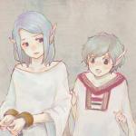 ドナドナエルフとエルフ王子