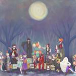 ハロウィン絵 2015